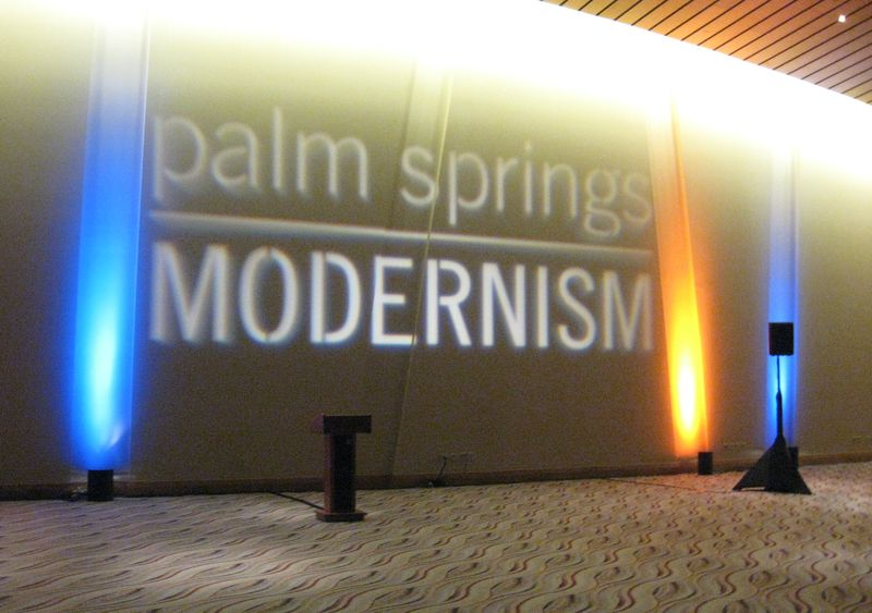 Palm Springs Modernism Sign