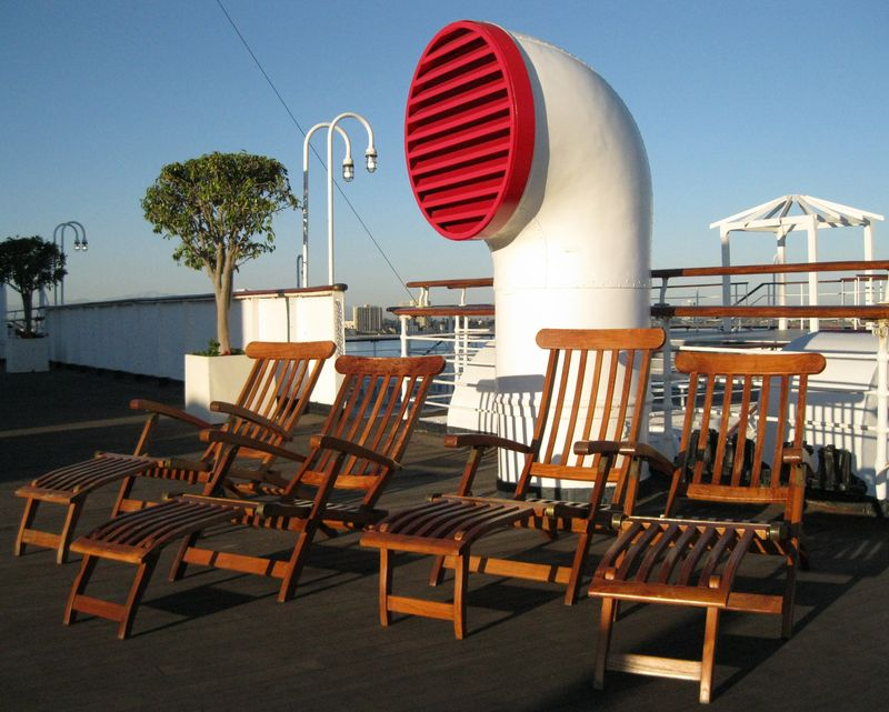 Queen Mary Sun Deck