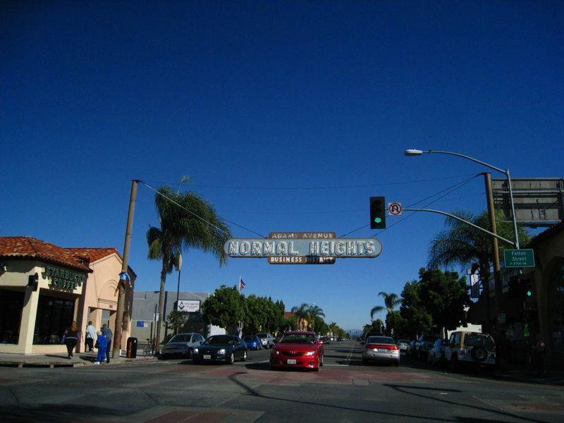 Adams Avenue Normal Heights