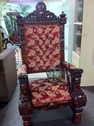 Indonesian king chair